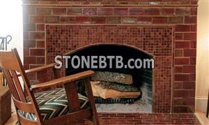 Fireplace - Indian Red Slate