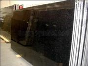Jet Black Granite Slabs