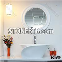 KKR easy cleaning solid surface sink for sale