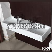 KKR no radiation solid surface wash basin for sale