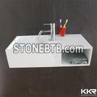 KKR high glossy solid surface sink for sale