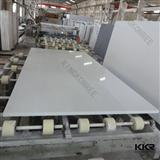 SGS approved white sparkle mirror fleck quartz slab