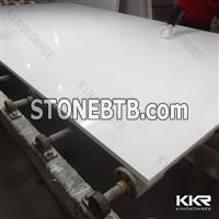 KKR Quartz Stone Artificial Marble Stone White