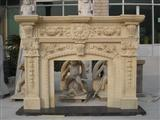 good quality marble fireplace indoor decration