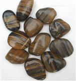 Tigger polished pebble stone