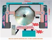 GANTRY DIAMOND DISC STONE SAWING MACHINE