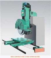 SINGLE ARM MULTI-DISC STONE SAWING MACHINE