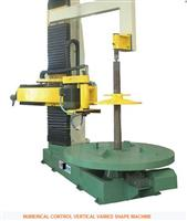 NUMERICAL CONTROL VERTICAL VARIED SHAPE MACHINE
