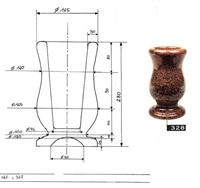 Funeral Ceramic Vases, Plaques and Flower pots