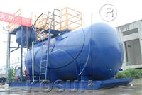 Solids control equipment diesel tank for sale by KOSUN