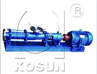 Solids control equipment screw pump for sale by KOSUN