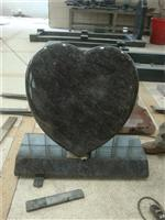 European style granite cussion heart tablet