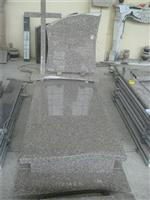 Grey granite gravestone ,granite headstone for poland market