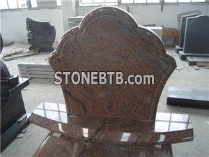 Wholesale cheap tombstone red tombstone granite tombstone