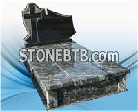 New style granite tombstone ,gravestone for poland market