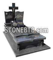 Granite monument and tombstone from natural stone