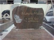 hands carved tombstone with cover slab