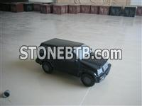 Granite carved car tombstone accessories