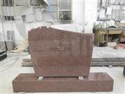 Australia red granite headstone,monument