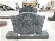 Simple design granite headstone for Australia market
