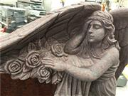 American style granite angel headstoneAmerican style granite angel headstone