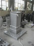 White granite tower for memorial
