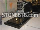 China Black Granite Tombstone&Monument