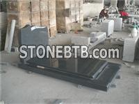 european french style tombstone g654 granite monument