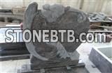 Himalayan Blue French Tombstones Granite Gravestones