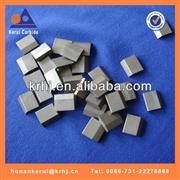 Carbide brazed tips for stone cutting