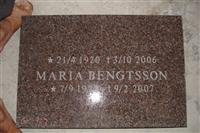 Granite Red Tombstone sf-10