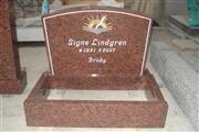 Granite Red Tombstone sf-11