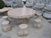 Stone Carvings - Table, Chair (SF-CT01)