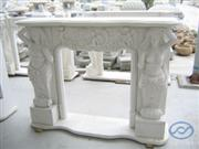 Stone Furniture - Marble Fireplace (SF-01)
