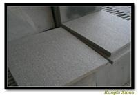china seasame black granite tile