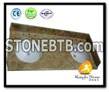 Golden Granite Kitchen Countertops