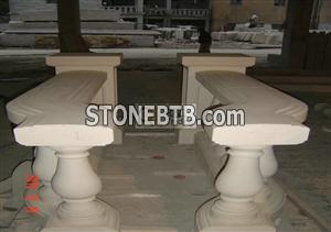 Limestone Balustrade and Railings