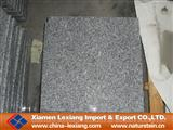 G603 padang crystal flamed granite tile