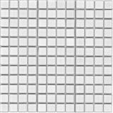 super white Glass mosaic