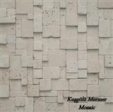 White Travertine Mosaic K1