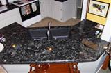 Labrador Antico Brown Granite Countertop