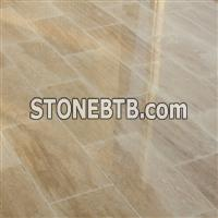 Beige Travertine Vein Cut