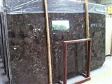 China Dark Emperador, brown marble slab