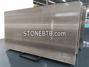 Wooden Grey marble slabs Serpeggiante Grey Marble