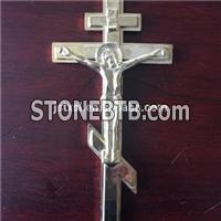 Coffin Accessories Cross Model Jesus 10 # With Plastic Material For Coffin