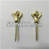 Coffin Accessories Screw Ireland Style A With Zinc Material For Coffin