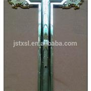 Coffin Accessories Cross Model Jesus 2 # With Plastic Material For Coffin