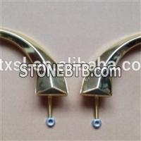 Metal Casket Handle Coffin Handles Model H9009 With Plastic And Metal Material For Coffin