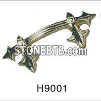 Decorative High Quality Plastic Funeral Coffin Handle On Coffin
