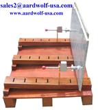 STONE CLAMP SET - stone tool machine, granite, marble, clamp, stone clamp, material handling equipment
